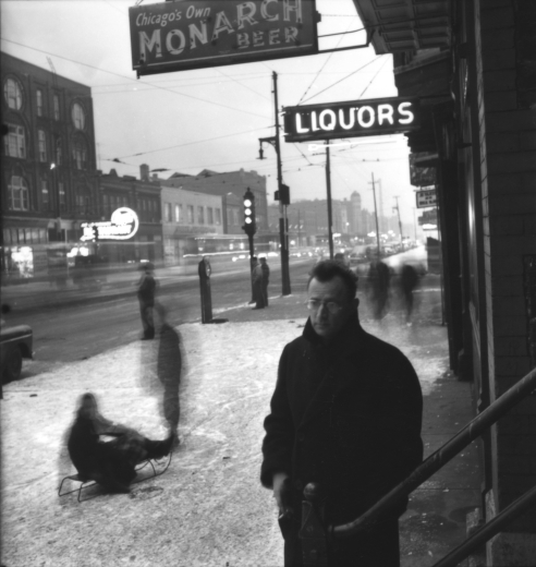 Nelson Algren. Photo by Art Shay.