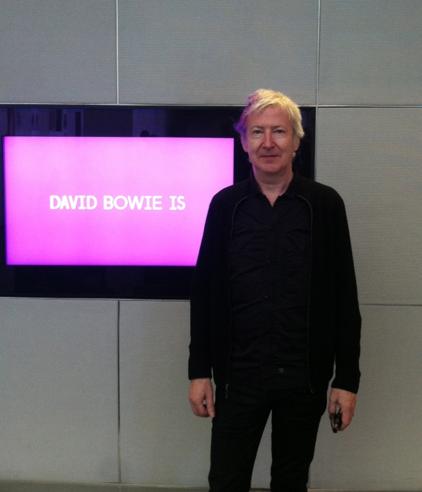Gerry Leonard, guitarist and music director for David Bowie, visited the MCA Friday