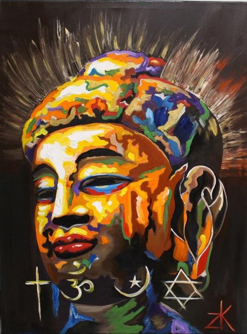TechniColor Buddha.