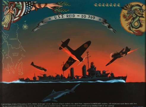 One of Klauba's World War II inspired pieces.