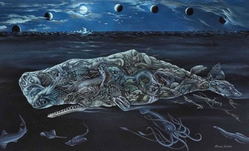One of many pieces George Klauba did that was influenced by Moby Dick.