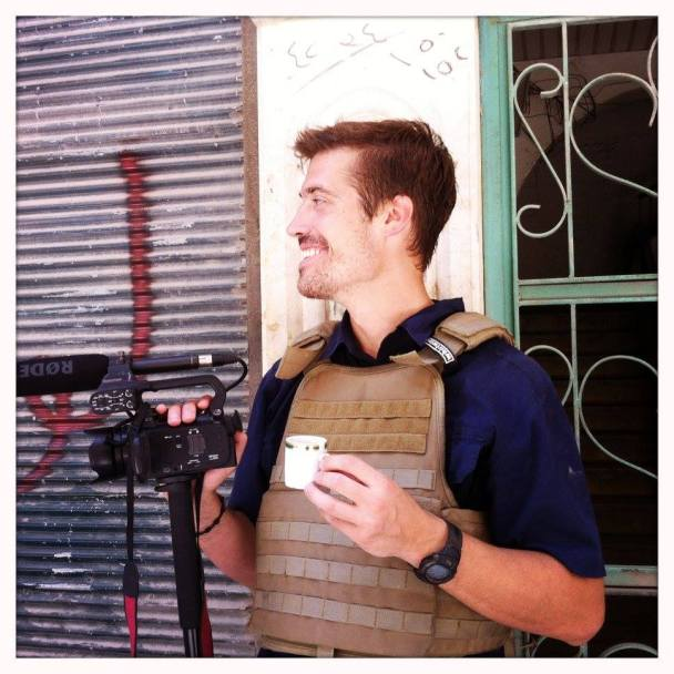 James Foley in Syria in 2012.