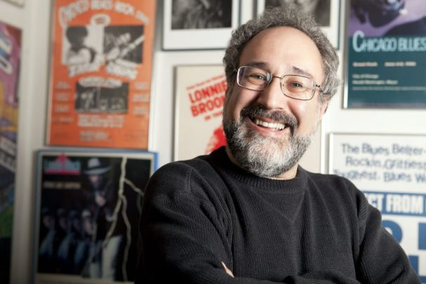 Bruce Iglauer, founder and owner of Alligator Records. Photo by Chris Monaghan.