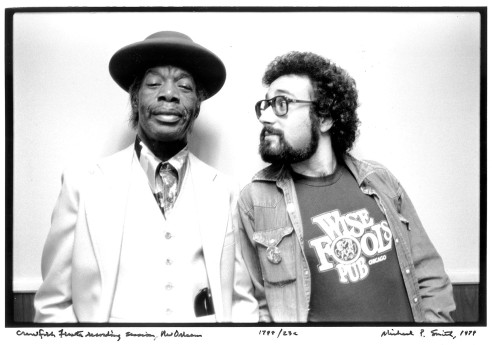 Professor Longhair with Iglauer. Photo by Michael P. Smith.