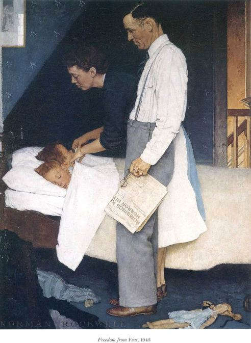 "Rockwell's ""Freedom from Fear"""