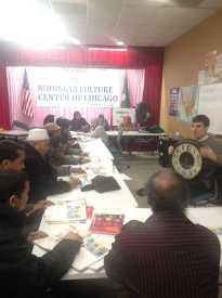 At the Rohingya Culture Center of Chicago, recent immigrants learn life skills.
